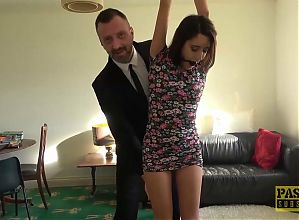 PASCALSSUBSLUTS - Submissive Susy Blue Fucked Hard By Domme