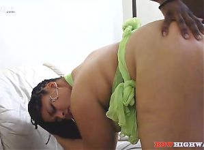 BDSM doing thick pretty redbone