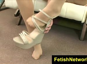 FetishNetwork Adrianna Lily in pantyhose