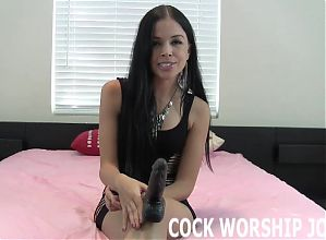 I can teach you how to deepthroat even the biggest cocks JOI