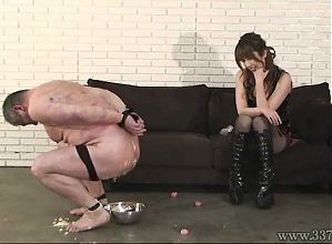 Japanese Femdom Mayumi Asou Facesitting Male Slave
