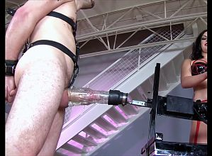 Dominatrix Milking Machine