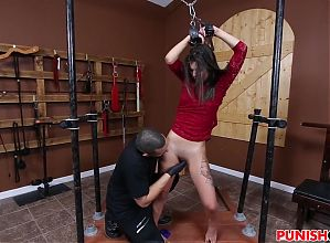 Gina Valentina gets bound and fucked