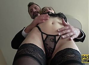 PASCALSSUBSLUTS - Gorgeous Submissive Slut Gets Plowed