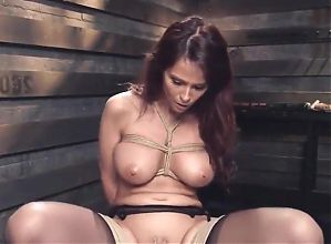 Big tits mature slave gets bdsm training