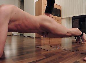Koerperspannung (TENS & Planking)