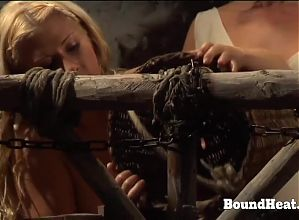 Gentle Love Making Between Madame And Slave Using Strapon