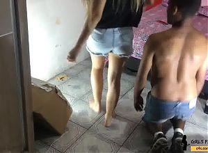 Dirty Feet Princess Deeh # Girls Fetish Brazil
