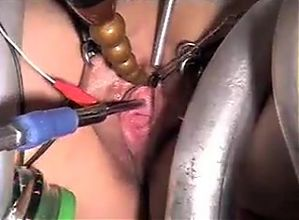 Sub wife tied peehole penetrated and in continuou orgasm