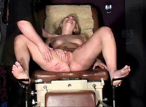 blond slave tortured