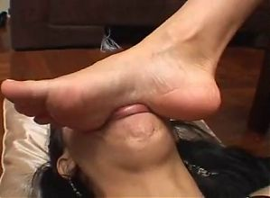 Brazil Brunette Lesbine Foot Domination