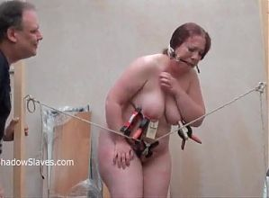 fat bbw bdsm slave drilled