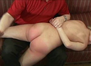 blond teaser spanked