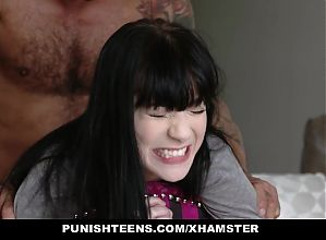 PunishTeens - Cute Goth Girl Fucked In Ass