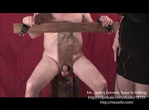 Humiliation BallBusting Limp Dick Play With Ms. Sadie