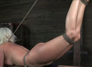 blond slave rough fuck