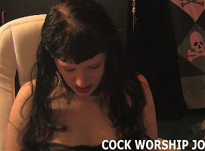 You really need to improve your cock sucking skills JOI