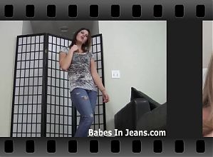 I know you love it when I wear these super tight jeans JOI