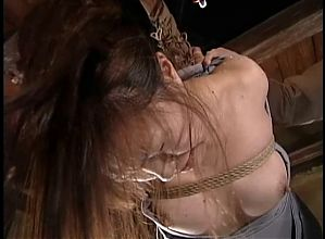 BDSM Japanese Soldier Hardcore Training Part 2