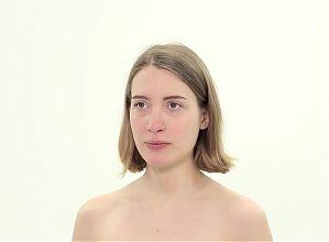 BDSM slave getting slapped