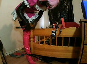 Sissy Slut self bondage