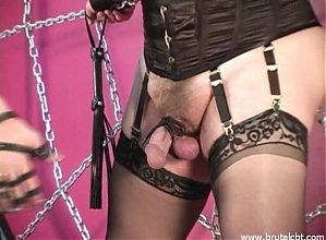 Pins Glove CBT Crossdresser