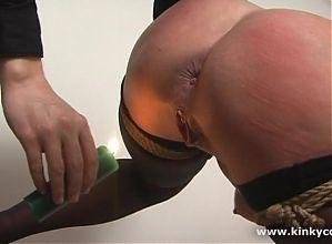 Bondage, spanking and orgasm
