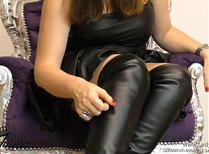 Stiefel Boots Fetisch Fetish FemDom German JOI BDSM